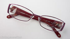 Versace Glasses Exclusive Ladies Protection Eyewear Extra Wide Frame Red Size M