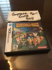 Magician's Quest Mysterious Times Nintendo DS NDS COMPLETE CIB AUTHENTIC TESTED