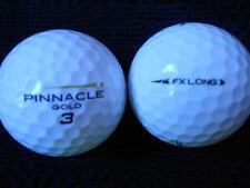 """20 PINNACLE GOLD FLASH  """"FX LONG""""  - Golf Balls - """"PEARL/A"""" Grades."""