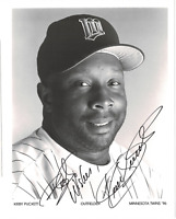 Kirby Puckett signed autographed 8x10 photo! RARE! AMCo Authenticated!