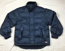 Vintage RLX Polo Sport Puffer Snowboard Down Jacket Rubber Patch Spell Out