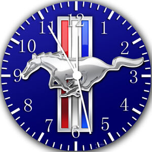 Mustang Frameless Borderless Wall Clock Nice For Gifts or Decor Z162