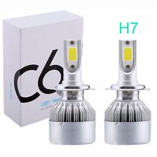 360° Car LED H7 Headlight Kit Bulbs 6000K 7200LM Xenon Super White Lamp Bulb
