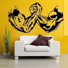 Arm Bodybuilding Fitness Wandtattoo Wallpaper Wand Schmuck 55 x 29 cm Wandbild