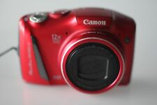 Canon PowerShot SX150 IS 14.1MP Cámara Digital-Rojo