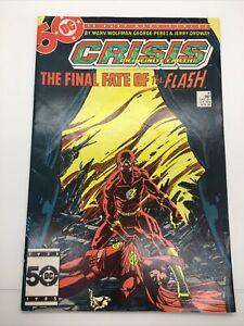 DC Comics Crisis On Infinite Earths 8 Death of Flash Barry Allen VF-