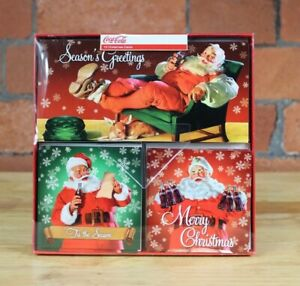 Coca-Cola Christmas Cards, Pack of 15