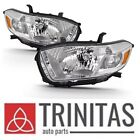 New SET 2008 2009 2010 Toyota Highlander Left + Right Headlights Headlamps