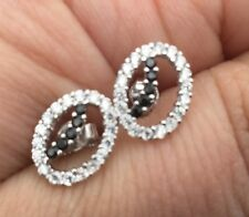 sterling silver 925 and cz stud earring