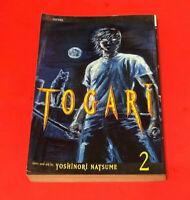 Togari Vol. 2 Manga (English)1st printing 2007 by Yoshinori Natsume Horror Anime
