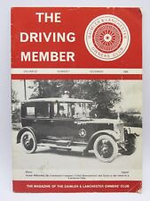 THE DRIVING MEMBER DAIMLER AND LANCHESTER OWNERS CLUB MAGAZINE Vol 22/7 Dec 1985
