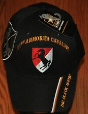 New 11th Eleventh Armored Cavalry Army Hat Baseball Ball Cap The Black Horse