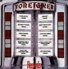 "FOREIGNER ""RECORDS/REMASTER"" CD NEW"