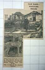 1939 Miss Dorothy Hanson Mr F Scott Rescue Watchdog Birtley British Legion Club