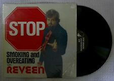 REVEEN Stop Smoking And Overeating Orig '78 Private Hypnotism Vinyl Shrink VG++