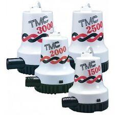 NEW TMC Bilge Pump 1500 GPH -12 volt BLA 131603 Marine Boating Bilge Pumps