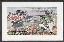 Staffa (Great Britain - Scotland Local) The Highlanders Battle of Alma S/S MNH