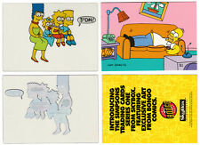 THE SIMPSONS Skybox Series 1 Promo Cards B1 & C1 1993