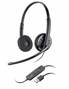 Plantronics Blackwire C320-M Black Headband Headsets