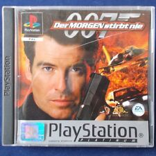 PS1 - Playstation ► James Bond: Der Morgen stirbt nie - Tomorrow Never Dies ◄