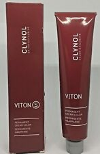 2xClynol VitonS Permanent Cream Color 8.3+ Light Gold Blonde Plus 120ml Total