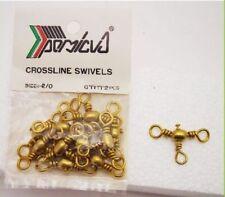 Girelle a tre da pesca Persicus Crossline Swivel N°2/0