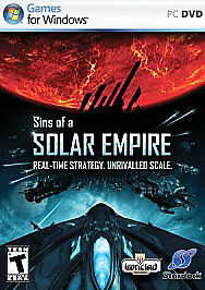 Sins of a Solar Empire (PC, 2008) Games for Windows Game