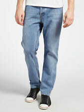 Cheap Monday Lineal Para Hombre Blue Jeans, W28 L34, BNWT