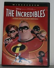 The Incredibles (Dvd, 2-Disc Set, Widescreen, Collectors Edition) Disney/Pixar
