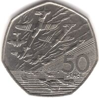 1994 Elizabeth II D-Day 50p Fifty Pence | British Coins | Pennies2Pounds