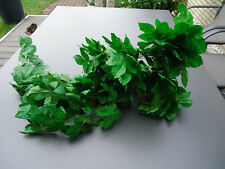 Seidenblätter Wein-Girlande gebunden unterschied. Längen ca. 30 cm bis  90 cm