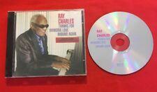 RAY CHARLES THANKS FOR BRIGING LOVE AROUND AGAIN RF004007-2 BON ÉTAT CD