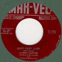 ROCKABILLY: HARRY CARTER - JUMP BABY JUMP/RHYTHM IN MY SOUL  - MAR-VEL