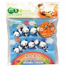 Torune Lunch Decoration Bento Accessory Food Pick Panda 8pcs