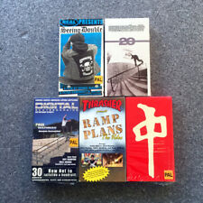 Lot of 5 Skateboarding Vhs Brand New tapes - Thrasher/Real/Puzzle/Rds/ Digital