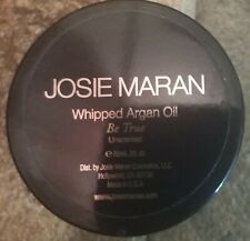 Josie Maran With Argan Oil  Be True Unscented BODY BUTTER 2 Oz New