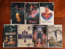 DC Comics DCeased #1-6 Horror Covers DCeasening Full Series 7 Comic Book Lot