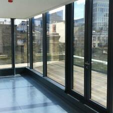 One Way  Privacy Mirror Reflection Tint Window Film Solar Energy Save Silver PVC