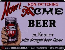"""Acme Beer  9/"""" x 12/"""" Sign"""