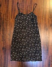 Vtg Express Chic BoHo Pixie Grunge Spaghetti Strap Summer Dress 1/2