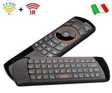 Rii Mini i25 Wireless - Tastiera con mouse giroscopico e telecomando infrarossi