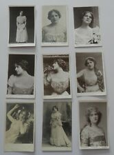 More details for 31 x edna may. edwardian actress. postcards. (lot 3).