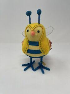 Target Easter Bird 2021 Spritz Yellow Breezy Bee Fabric Bird Featherly Friends