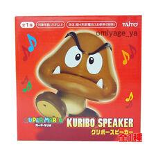 Super Mario Bros Wii Kuribo Goomba USB / Battery Powered Speaker