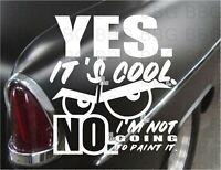 Rat Hot Rod Vinyl Decal Sticker Racing Tool CAR GUY DAD Funny Joke Primer Black