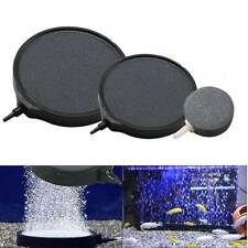 Aquarium Fish Tank Pond Pump Oxygen Bubble Disk Air Pottery Stone Aerator