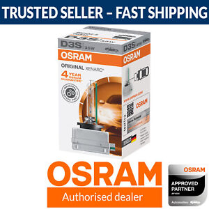 OSRAM Xenarc D3S Standard Replacement Xenon HID Car Bulb (Single Globe)