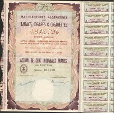 Bastos, Tabak, Zigarren & Zigaretten (Algerien) (P)