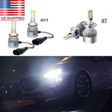 4Pcs Super White 72W COB LED Headlight High Low Beam Bulbs For Mazda CX-7 07-12