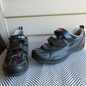NWB Garneau HRS-80 Multi Lite US 10.5  Cycling Shoes Black Women's Shoes